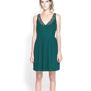 TRAFALUC Zara Fit & Flare Sleeveless Dress